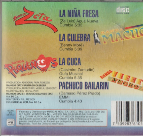 Cd Disco Banda