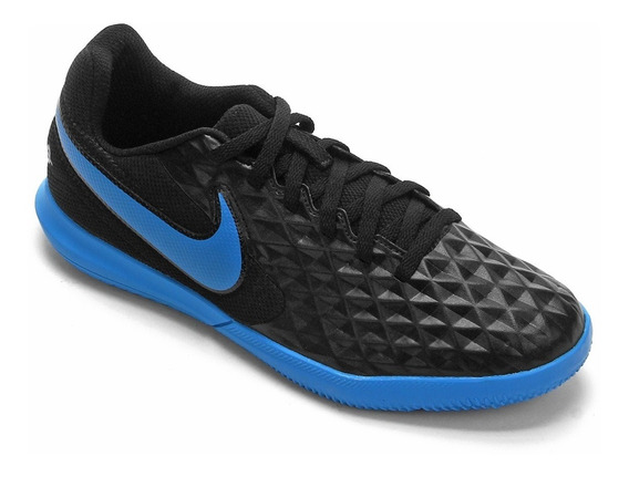 Tênis Nike Futsal Tiempo Legend 8 Club Preto - Infantil