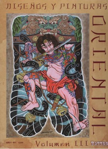 Imagen 1 de 3 de Oriental Iii - Diseños Y Pinturas Tattoo