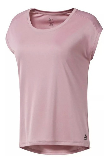 Remera Reebok Wor Poly T Solid Lam W.