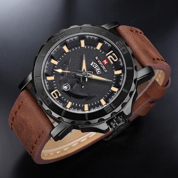 Relógio Masculino Naviforce 9122 Original - Novo - Luxo