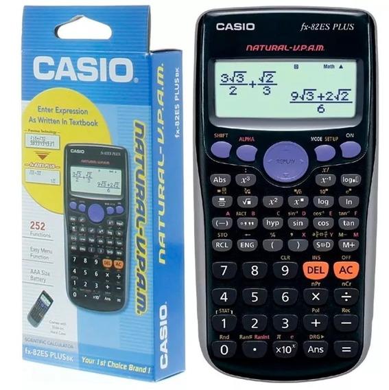 Calculadora Cientifica Casio Fx-82es Plus 252 Funciones