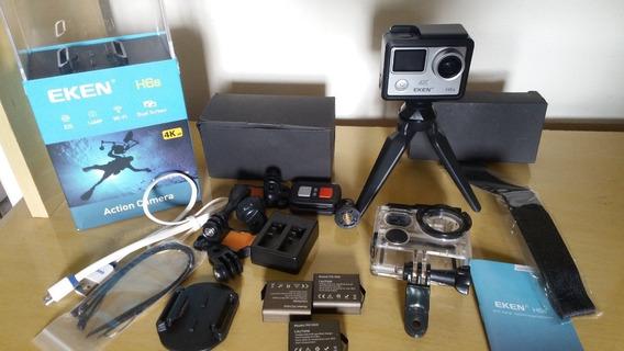 Câmera De Ação Eken H6s Tecnologia Eis, 4k