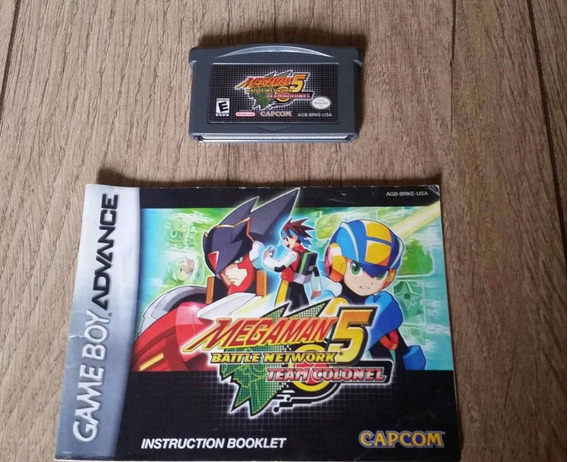 Megaman Battle Network 5 Team Colonel - Gba - Original