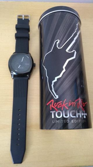 Relógio De Pulso Touch+ Preto