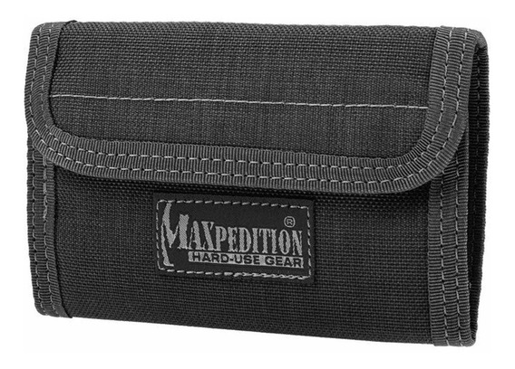 Billetera Maxpedition Spartan black nylon balístico