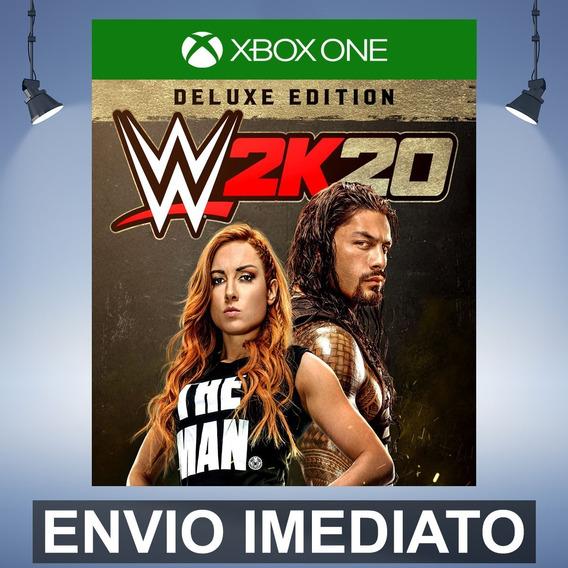 Wwe 2k20 Deluxe - Xbox One Código 25 Dígitos