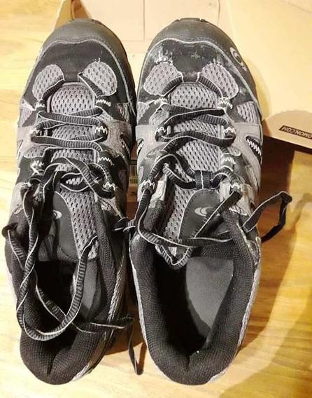 Zapatillas Salomon Unisex 40 2/3 Usadas Excelente Estado