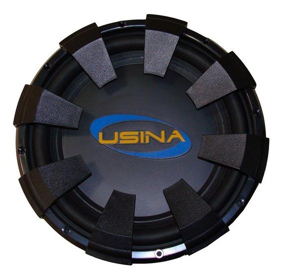 Subwoofer Spyder Usina 12 350w Telado Bobina Dupla + Brindes