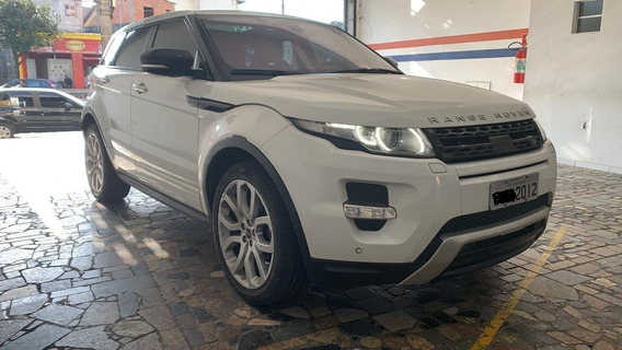 Evoque Dynamic 4wd 2012