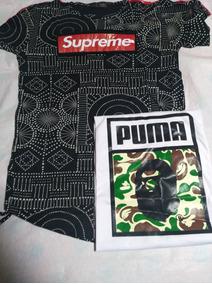 Pack Polera Supreme Y Bape Talla M Cod 58