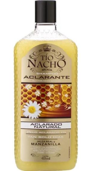 Shampoo Tio Nacho Aclarante Jalea Real Y Manzanilla X 415 Ml
