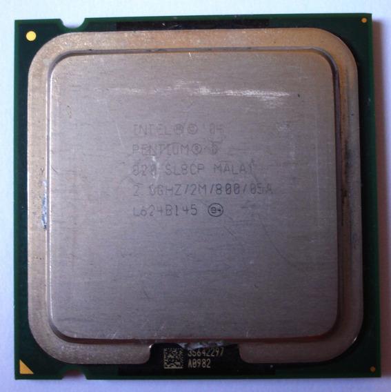 Processador Intel Pentium D 820 Sl8cp 2.8 Ghz