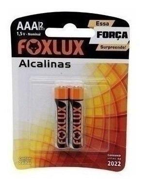 Pilha Foxlux Alcalina Palito Aaa 10x2 42218