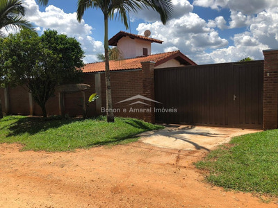 Chácara À Venda Em Jardim Santo Antonio Jaguariúna - Ch006880