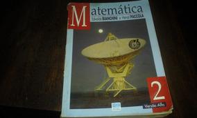 Livro - Matemática Vol.2 - Edwaldo Bianchini E Herval Pacco.