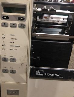 Impresora De Etiquetas Industrial Zebra 110 Xilll Plus