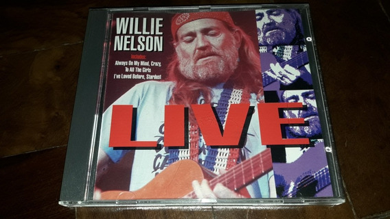 Cd Willie Nelson - Live (always On My Mind) Import Uk
