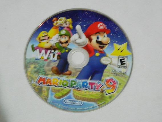 Mario Party 9 - Original Wii - Só O Cd