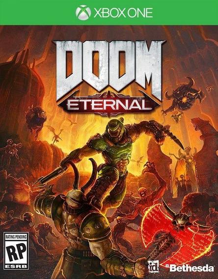 Doom Eternal Xbox One Mídia Digital +1 Jogo Grátis!