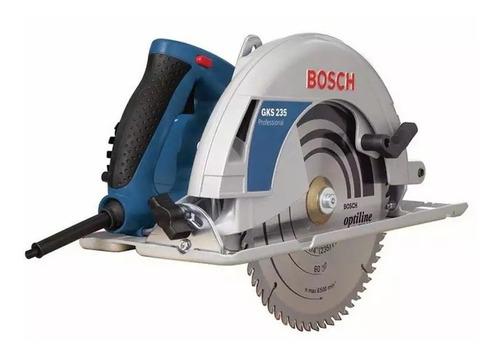 Serra Circular 9 1/4'' 2200w 220v Gks 235 Bosch