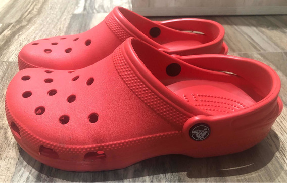 Crocs Classic Rojos Talle 38 M6 W8 Usados Impecables