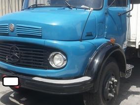 Mb L 1113 6x2 - Azul Ano 1973