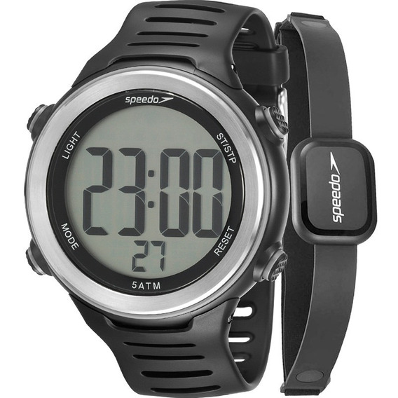 Relógio Speedo Masculino 66001g0emnp1 + Monitor Cardiaco