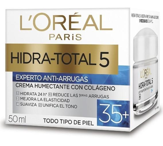 Crema Antiarrugas Loreal 35+ Con Colageno X 50ml