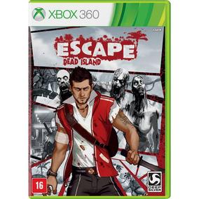 Escape Dead Island Xbox 360 One Lacrado Mídia Física