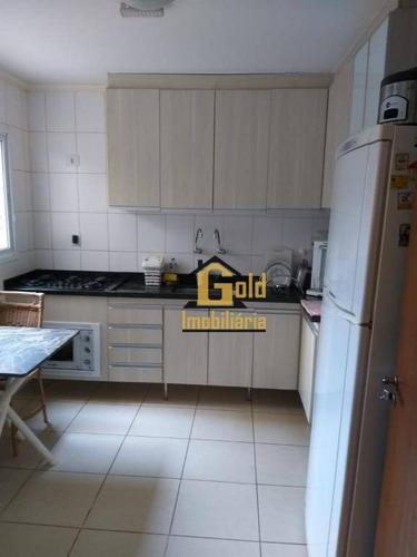 Casa Com 3 Dormitórios À Venda, 100 M² Por R$ 360.000,00 - Parque São Sebastião - Ribeirão Preto/sp - Ca0508