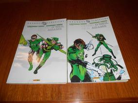 Hq Lanterna Verde E Arqueiro Verde. Dennis Oneil Neal Adams