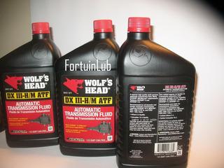 (3.58 Vrds) Aceite Atf Dexron 3 Caja Automatica Wolfs