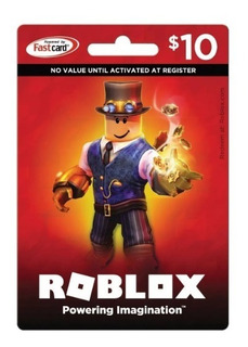 Tarjeta Roblox Robux (10) Original Giftcard - Mercadolider