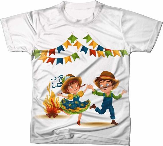 Camisa Camiseta São João Festas Junina Nordeste Quadrilha