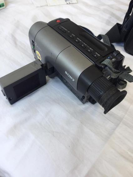 Filmadora Sony Handycam Video Lcd Ccd Trv 11