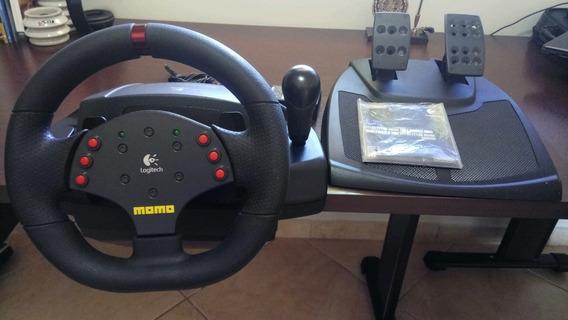 Volante Lotigech Momo Racing Force Feedback