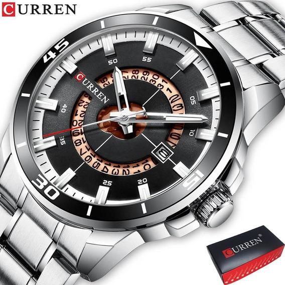 Relógio Curren Masculino Lançamento 8359 Casino Luxo Barato