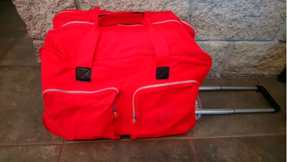 Bolso Carry On Marca Kipling - Super Top Impecable