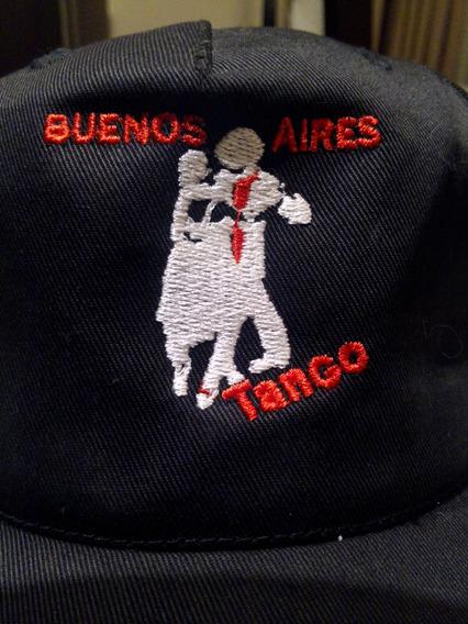 Buenos Aires Tango - Boné - Bordado - Tam. Ajustável - Novo