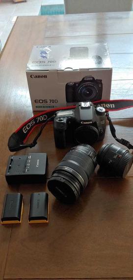 Canon Eos70d + Acessórios