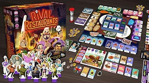 Gap Closer Games Rival Restaurants Juego De Mesa