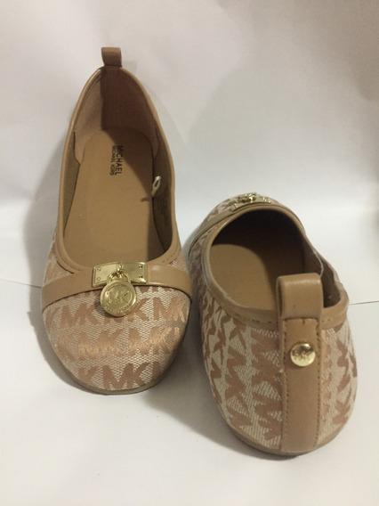 Zapatos Mk Michael Kors Flats Originales 23