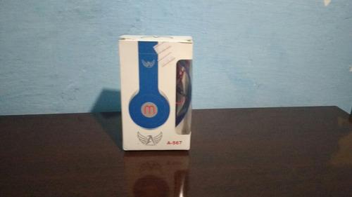 Headphone Ltomex (cor Azul)