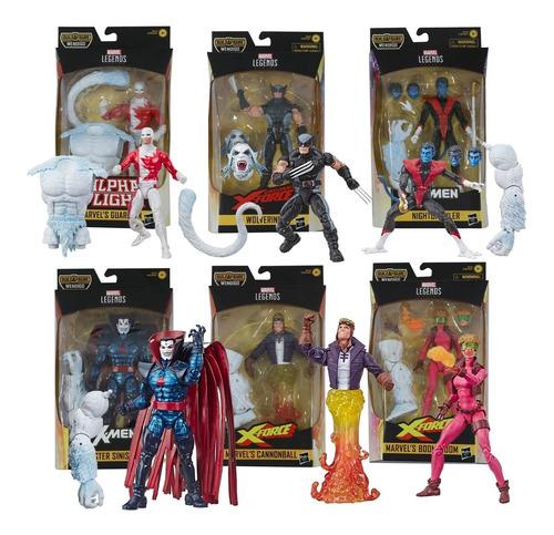 Marvel Legends X Men Force Uncanny Build A Figure Hasbro
