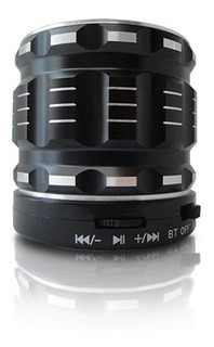 Parlante Portatil Bluetooth Ns-pa32b Negro - Nisuta