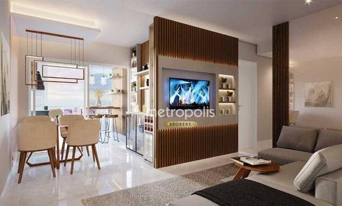 Apartamento À Venda, 94 M² Por R$ 812.994,28 - Vila Léa - Santo André/sp - Ap6378