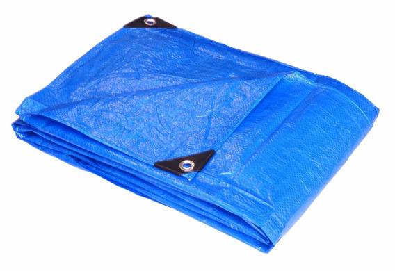 Lona Plástica Encerado 4x3 70 Gramas 100 Micras Ajax / Azul