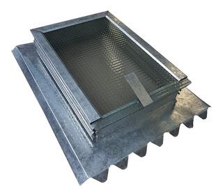 Claraboya Para Techo De Chapa O Losa Con Ventilación 40x40