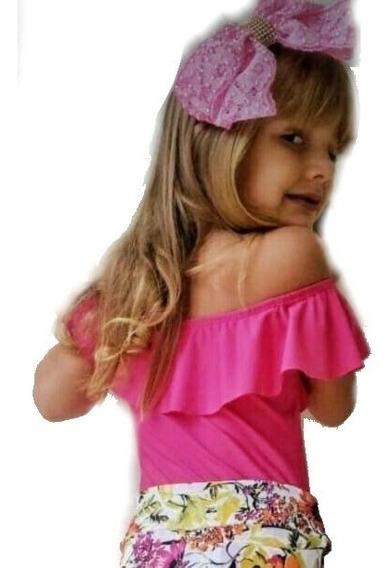 Body/bory Ciganinha - Infantil - Crianca - Bebe - Adolescente - Menina - Luxo - Do 1 Ao 16 - Para Criança
